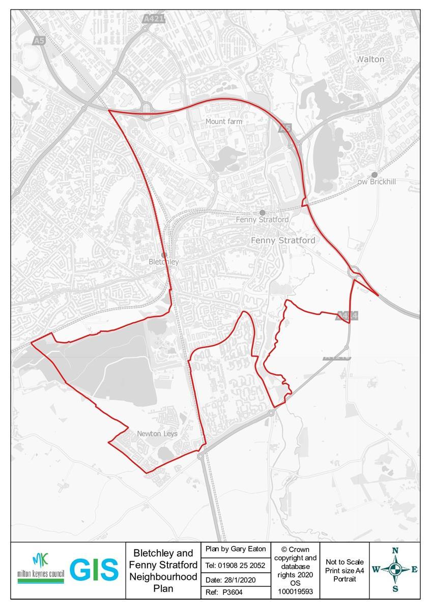 Image of Neighbourhood Map Designated Area